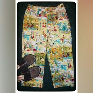 Sport Haley French Quarters Crop Pants Sz 2